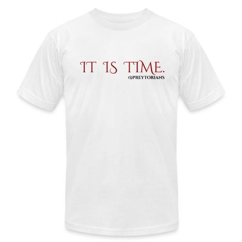 Preytorians - It Is Time Men's T - Men's Fine Jersey T-Shirt
