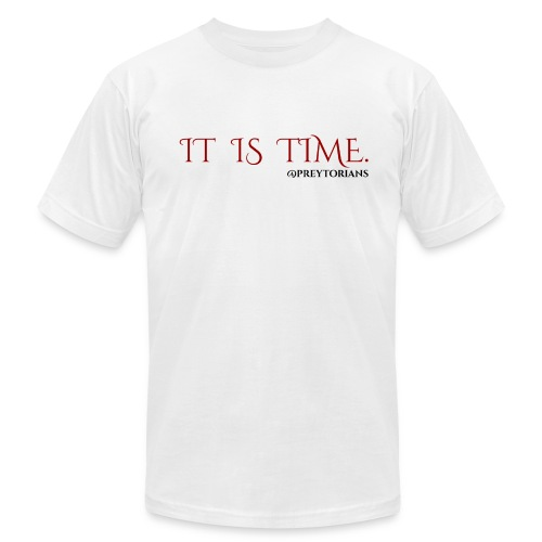 Preytorians - It Is Time Men's T - Men's Fine Jersey T-Shirt