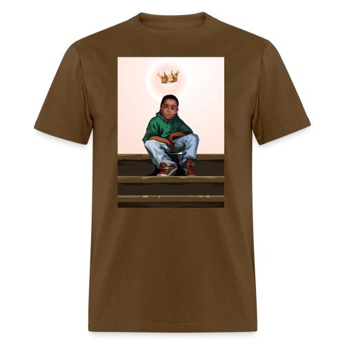 To Be A King (Men's Brown T-Shirt) - Men's T-Shirt