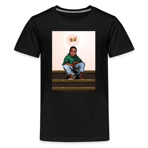 To Be A King (Kid's Black T-Shirt) - Kids' Premium T-Shirt