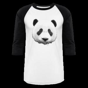 Panda Baseball T-Shirt - Baseball T-Shirt