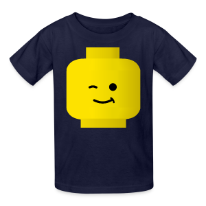 Winking Lego Boy's T-Shirt - Kids' T-Shirt