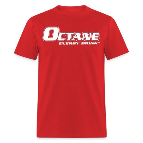 OCTANE ENERGY DRINK™ MEN'S RED T-SHIRT - Men's T-Shirt
