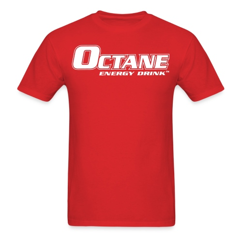 OCTANE ENERGY DRINK™ MEN'S RED T-SHIRT - Men's T-Shirt