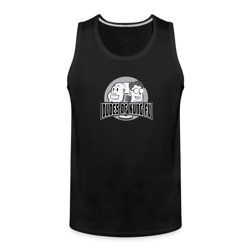 Dudes of Kung Fu Men's Tank Top - Men's Premium Tank