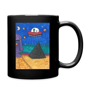 UFO in Egypt - Full Color Mug