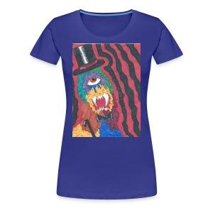 badass monster - Women's Premium T-Shirt