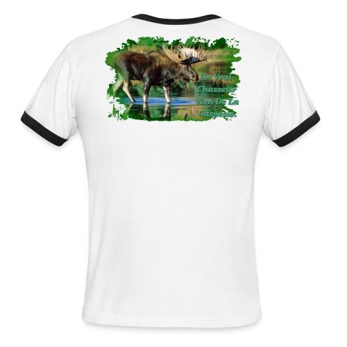 T-Shirt Chasseur Homme - Men's Ringer T-Shirt