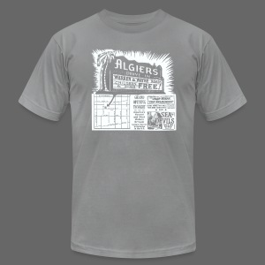 Algiers Drive In - Men's T-Shirt by American Apparel