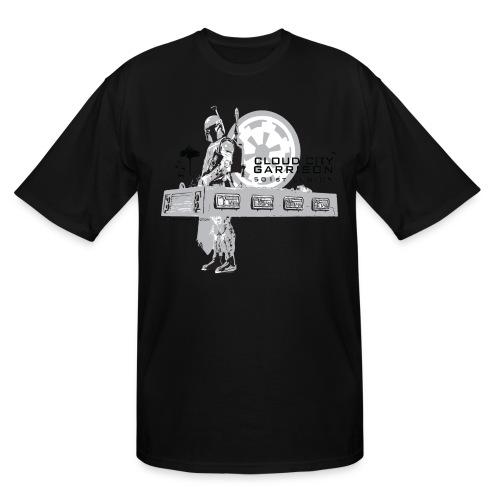 Big/Tall Boba Fett CCG t-shirt - Men's Tall T-Shirt