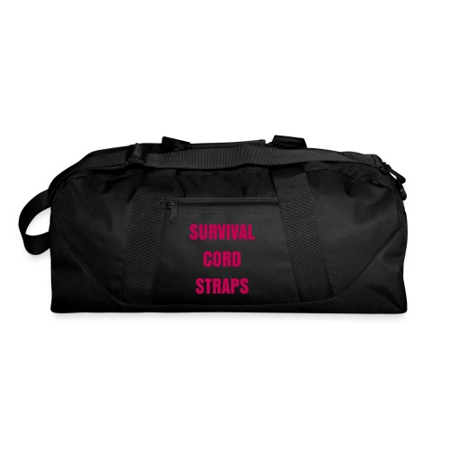 - SCS Duffel Bag - Hot Pink Letters - Duffel Bag