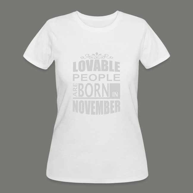 born in november T-Shirts 02f806aa9