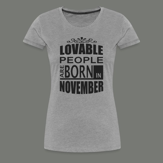 born in november. T-Shirts 4f4198517