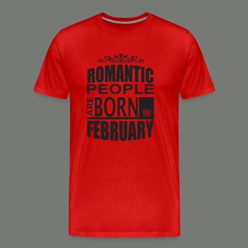 born in february T-Shirts - Men's Premium T-Shirt