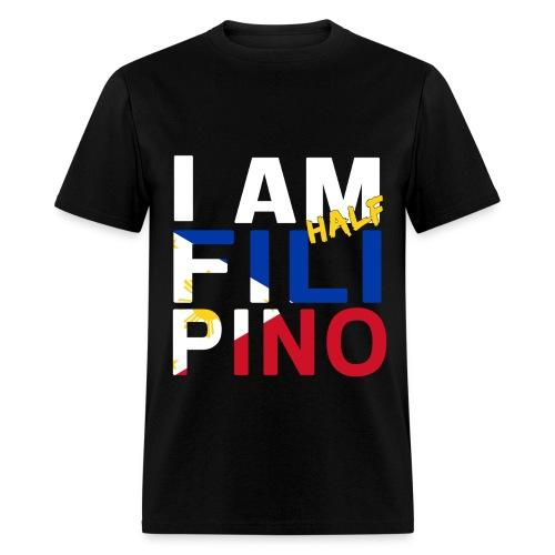 I AM Filipino - Half (Ver. 1) - Men's T-Shirt