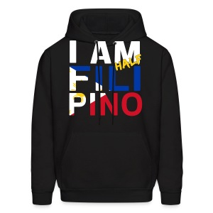 I AM Filipino - Half (Ver. 1) - Men's Hoodie