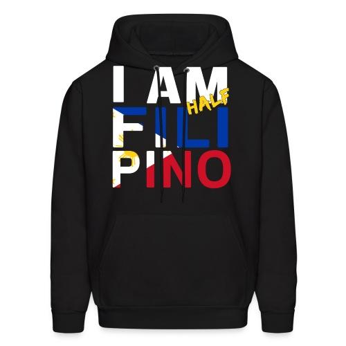 I AM Filipino - Half (Ver. 1) - Men's Hoodie