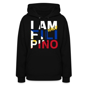 I AM Filipino - Half (Ver. 1) - Women's Hoodie