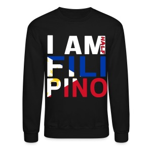 I AM Filipino - Half (Ver. 2) - Crewneck Sweatshirt