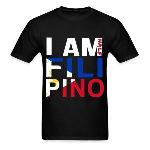 I AM Filipino - Half (Ver. 2) - Men's T-Shirt