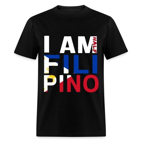 I AM Filipino - Half (Ver. 2) - Men's T-Shirt