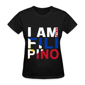 I AM Filipino - Half (Ver. 2) - Women's T-Shirt