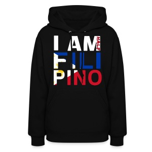 I AM Filipino - Half (Ver. 2) - Women's Hoodie