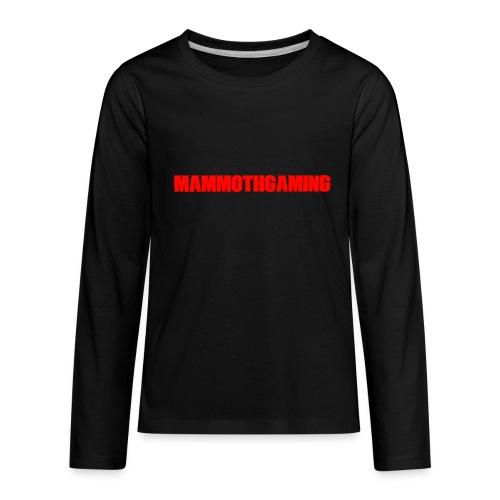 MammothGaming Kids Long Sleeve Shirt - Kids' Premium Long Sleeve T-Shirt