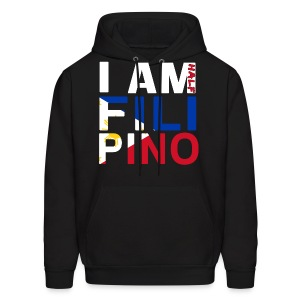 I AM Filipino - Half (Ver. 2) - Men's Hoodie