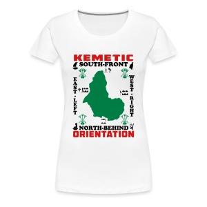 Kemetic Orientation - Women's Premium T-Shirt