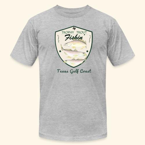 Hookat Trophy Speckled Trout - Men's  Jersey T-Shirt