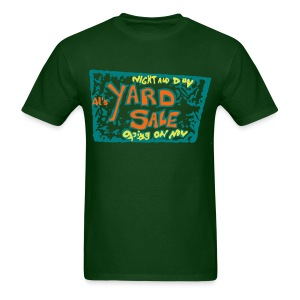 Al's Yard Sale T-Shirt Flex Print hstreet - Men's T-Shirt