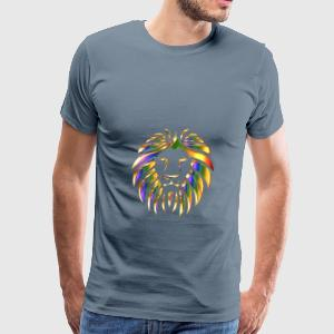 Golden Lion Enhanced No Background - Men's Premium T-Shirt