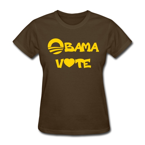 Iota Sweet Obama 2012 - Women's T-Shirt