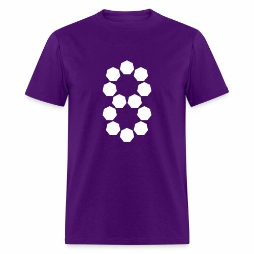 Heptagon heptagons - Men's T-Shirt