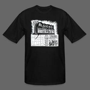 Algiers Drive In - Men's Tall T-Shirt