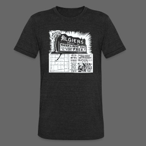 Algiers Drive In - Unisex Tri-Blend T-Shirt by American Apparel