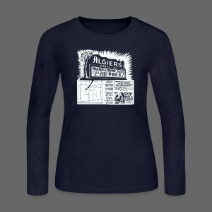 Algiers Drive In - Women's Long Sleeve Jersey T-Shirt