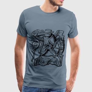 Knight 2 - Men's Premium T-Shirt