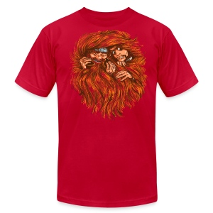 Superior Mens Tee: Tangled - Men's T-Shirt by American Apparel