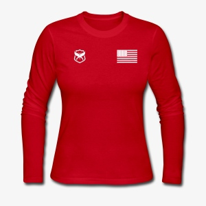 Female Jersey Long Sleeve - Women's Long Sleeve Jersey T-Shirt