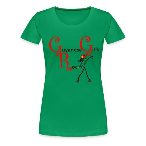 Guyanese Girls Rock T-Shirt - Women's Premium T-Shirt