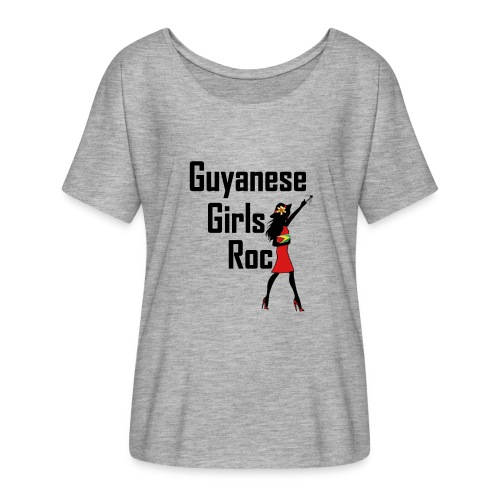 Guyanan Girl T-Shirt - Women's Flowy T-Shirt