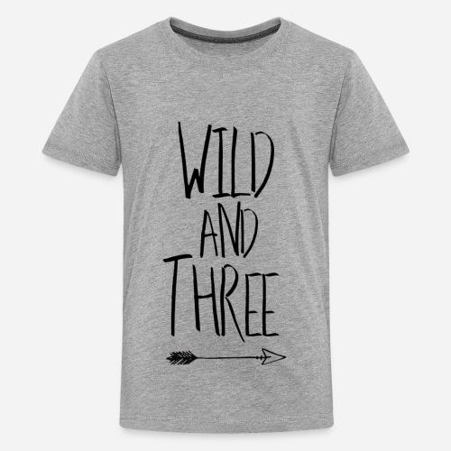 WILD & THREE - Kids' Premium T-Shirt