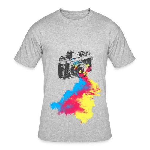 Color Bleeding Camera - Men's 50/50 T-Shirt