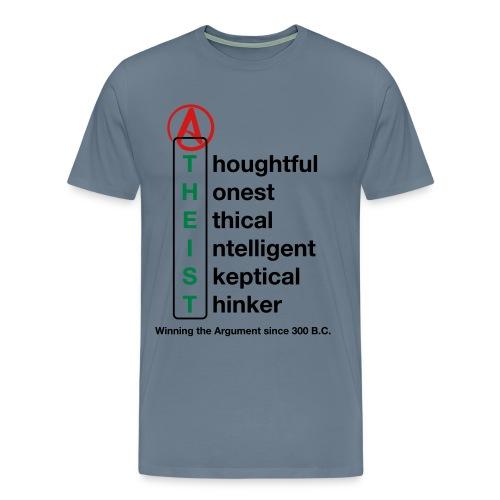 African American Free thinking T - Men's Premium T-Shirt