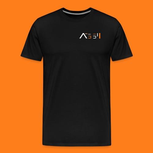 Official t-shirt with white text - Men's Premium T-Shirt