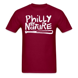 Philly by Nature - Men's T-Shirt