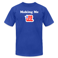 T-Shirts ~ Men's T-Shirt by American Apparel ~ Making Me Ill