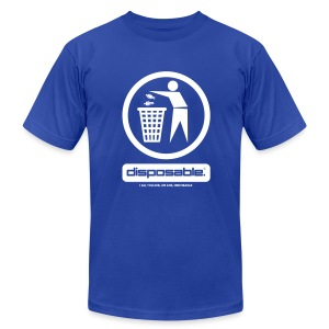 Disposable tee - Men's T-Shirt by American Apparel